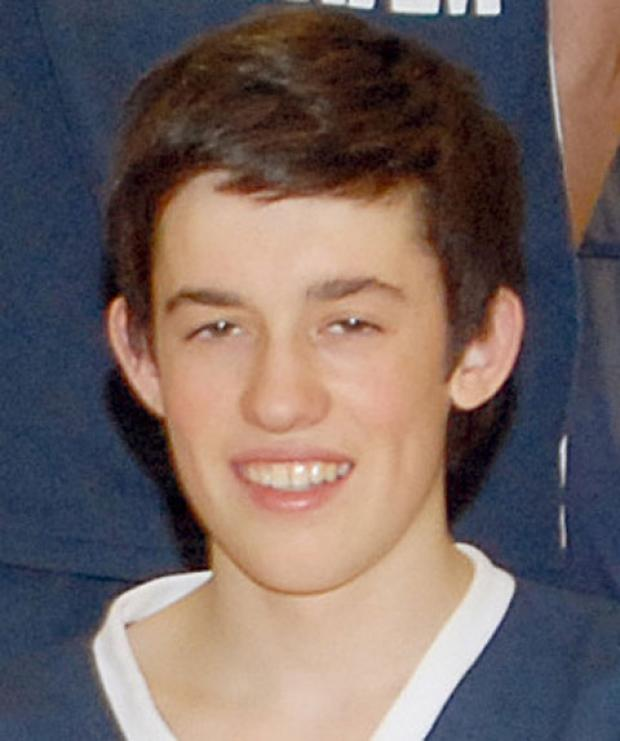 Sam Windross, pictured as a member of a successful Bootham School  basketball team in 2008