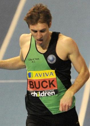 Richard Buck will compete for Team GB at the World Indoor Athletics Championships
