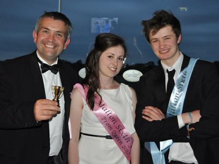 Sixth form students at Malton School held their prom at York Racecourse. Prom Queen was Alice Thompson and Prom King was Sam Coppack.