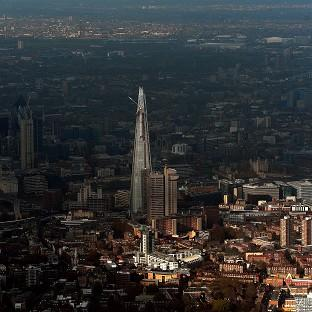 The Shard is Europe's tallest building at a height of 1,016 ft