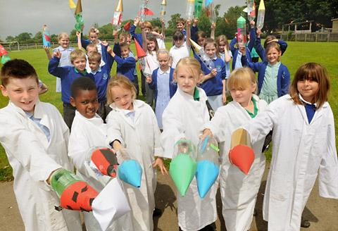 Thornton Dale Primary School pupils set for lift-off