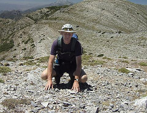 Gordon Simm who disappeared in July while hiking in mountains near Nerja, on the Costa del Sol
