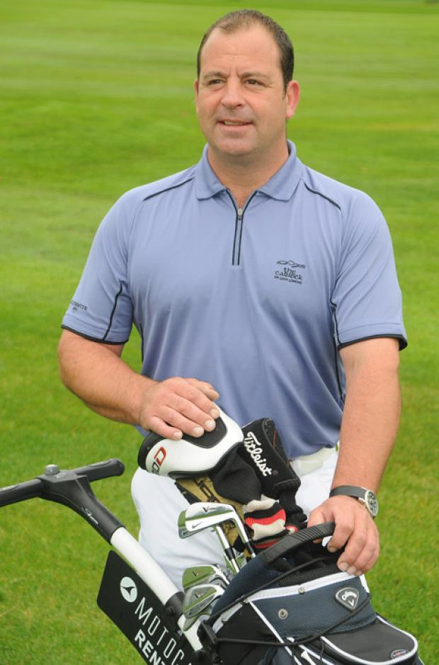 Golfer Matt Hazell, pictured at Malton & Norton Golf Club, who is to compete in the League To Dubai grand final