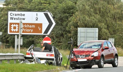 UPDATED: Serious crash on A64