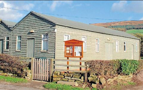 £30,000 has so far been raised towards the appeal to replace the existing village hall in Farndale