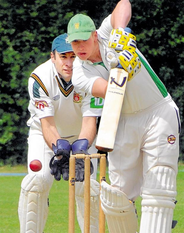 Mark Haines, one of three players who scored 40 in the Feversham League Top Four Play-off competition