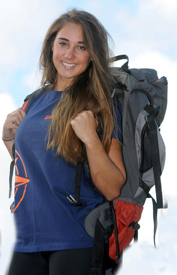 Emily Alasfar, from Norton, is  back from Kilimanjaro