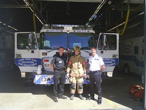 North Yorkshire  firefighters meet counterparts in the US during their groundwork trip