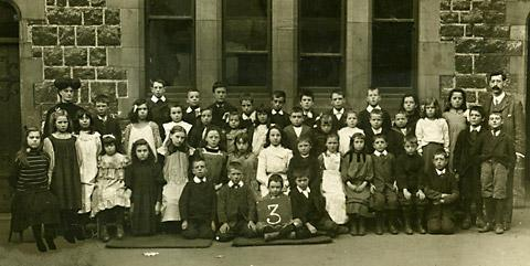 School photograph sent in by Gazette & Herald reader Jan Coupland