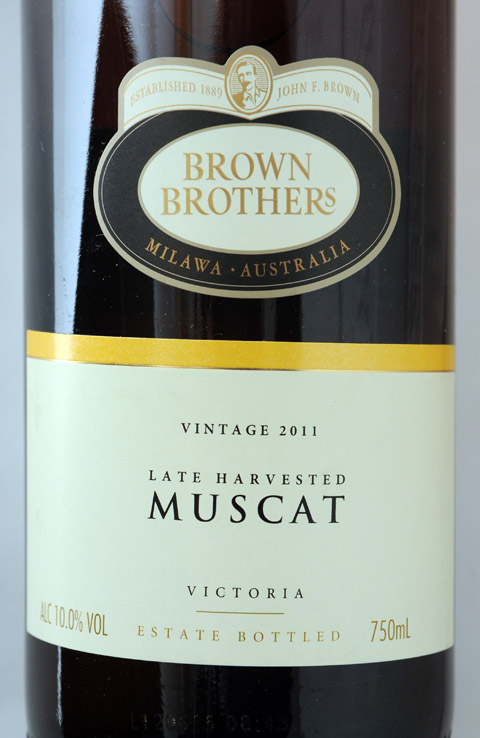 Brown Brothers Late Harvested Muscat 2011