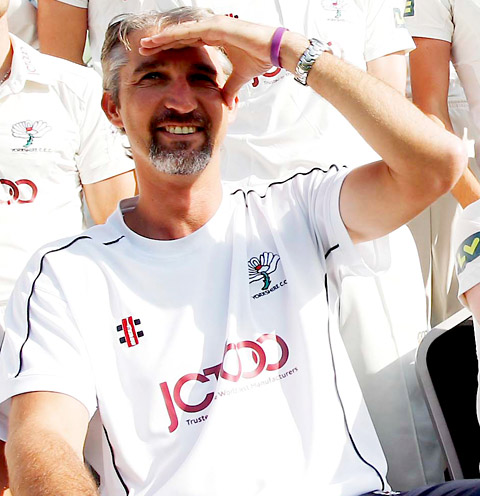 Jason Gillespie's golden lease of life with Yorkshire