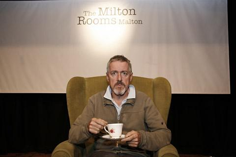 Griff Rhys Jones at the Milton Rooms