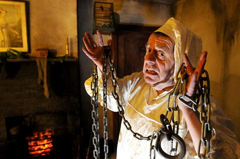 Actor Chris Cade who will be playing Scrooge as part of the Victorian Christmas events at the Castle Museum, York