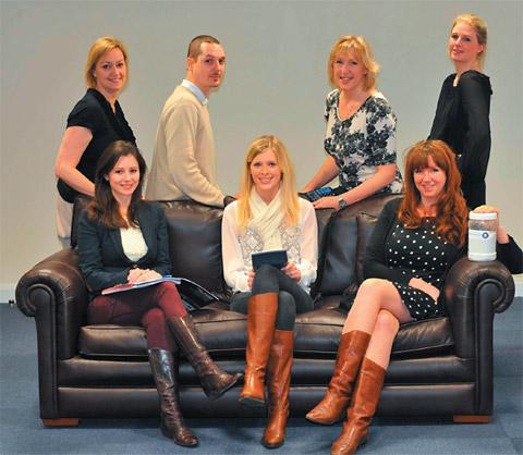 Some of the new recruits at York Potash, back row, from left, Alison Crawford, Matt Ross, Jacqueline Cartwright, Jodie Whitehead; Front row, Sarah Powell, Rachael Rawson and Victoria Hill