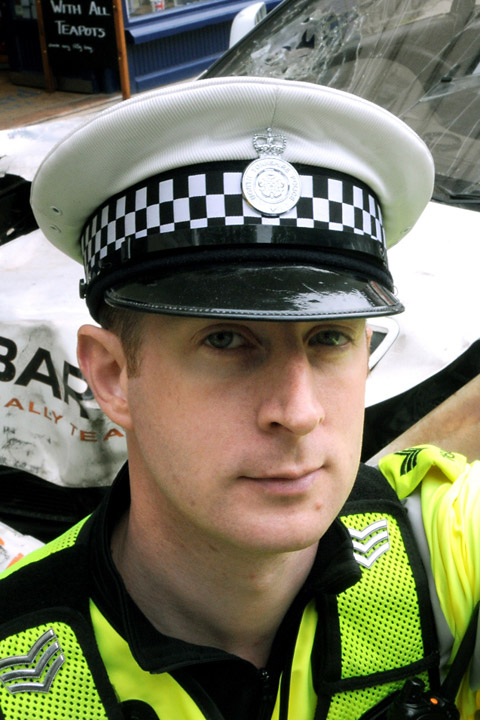 Traffic Sergeant Pete Stringer
