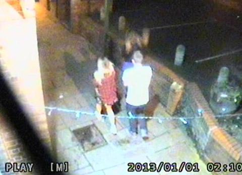Are you in this CCTV image? Did you see anything suspicious on New Year's Eve?