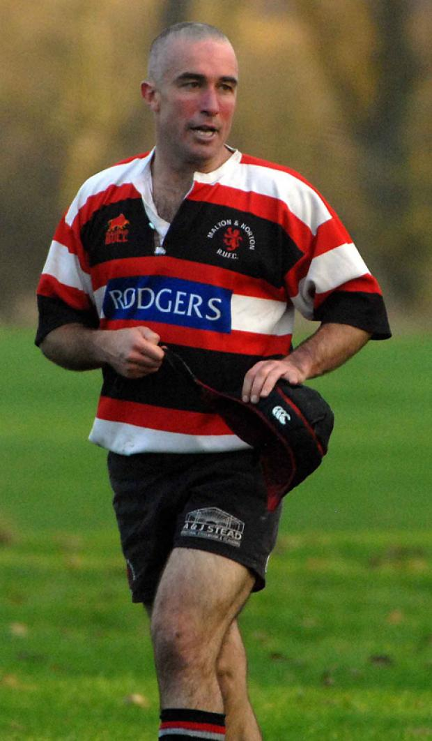 Malton & Norton player-coach Chris Creber