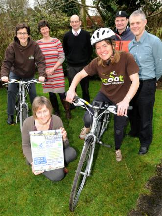 The annual Ryedale Special Families cycle ride is launched