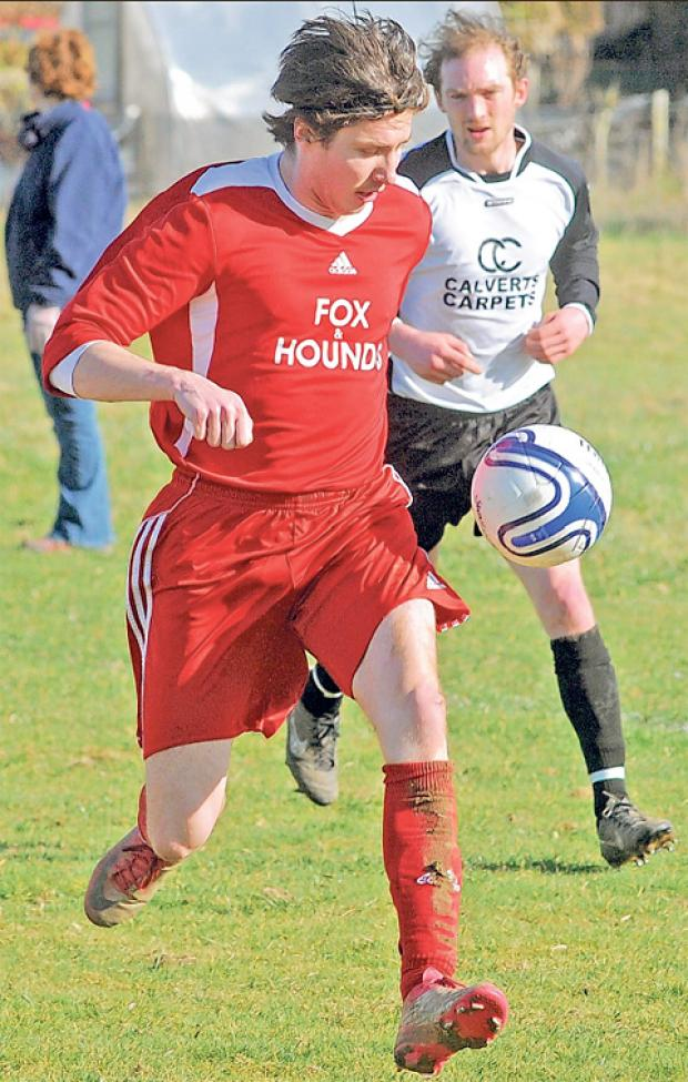 Robbie Preston hit a hat-trick in Sinnington's win over Thornton-le-Dale