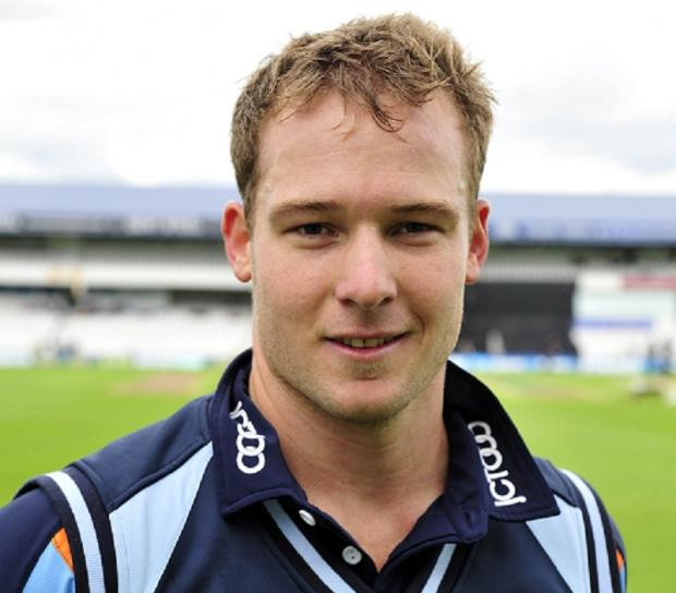 Yorkshire batsman David Miller