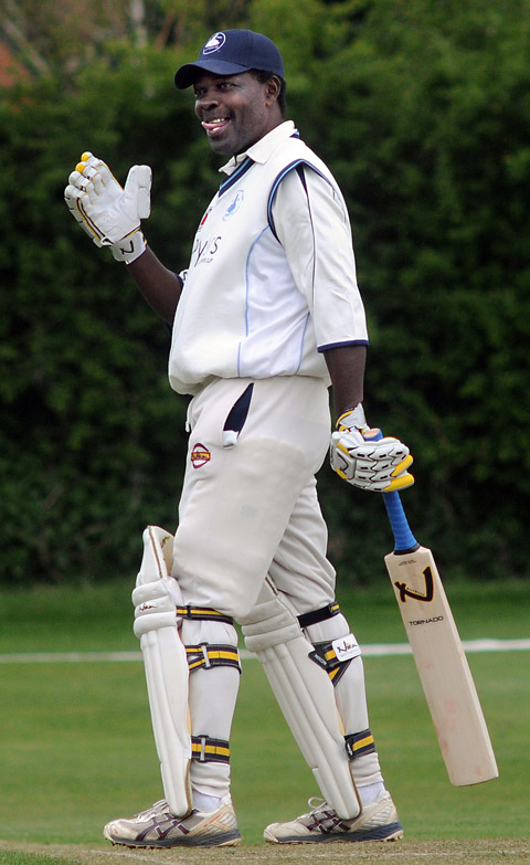 Former West Indies batsman Collis King was unable to stir Dunnington on his comeback from retirement