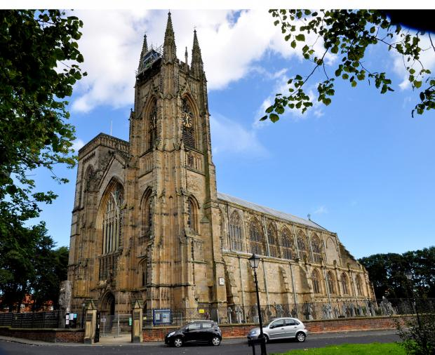 Gazette & Herald: Bridlington Priory in all its glory