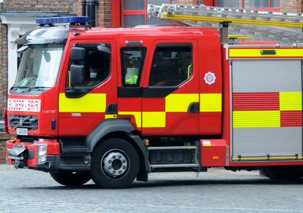 Fire crews called out at West Knapton