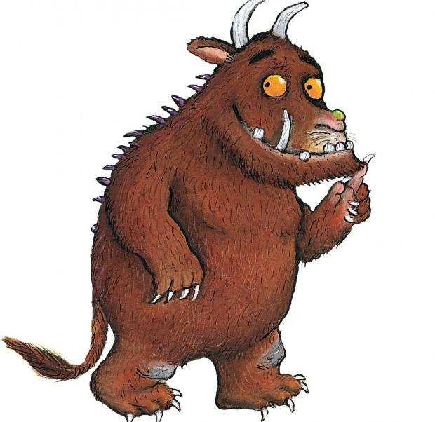 Gruffalo comes to Dalby Forest