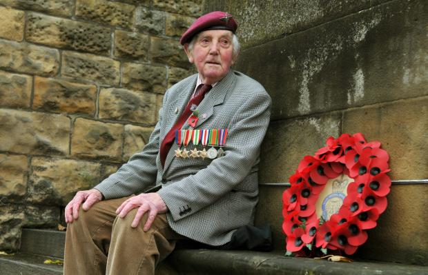 Gazette & Herald: War veteran Raymond Whitwell