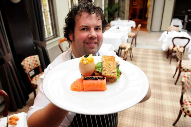 "Feversham Arms chef Jason ""Bruno"" Birkbeck and the exclusive breakfast"