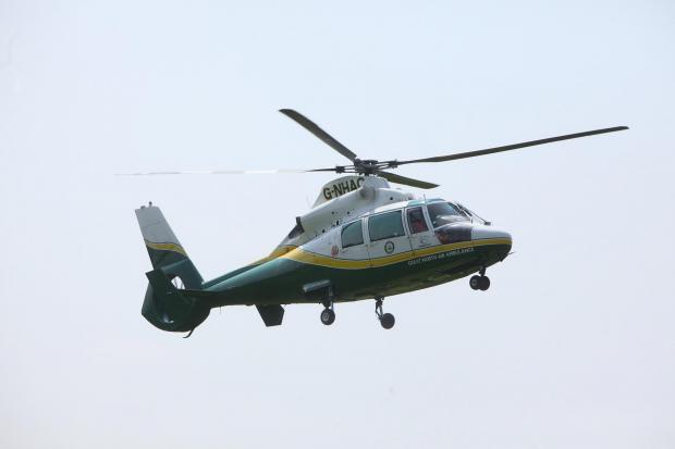 Air ambulance called to farm accident near Easingwold
