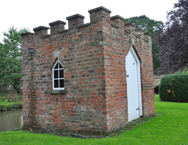 Gazette & Herald: The Leech House is situated alongside Bedale Beck