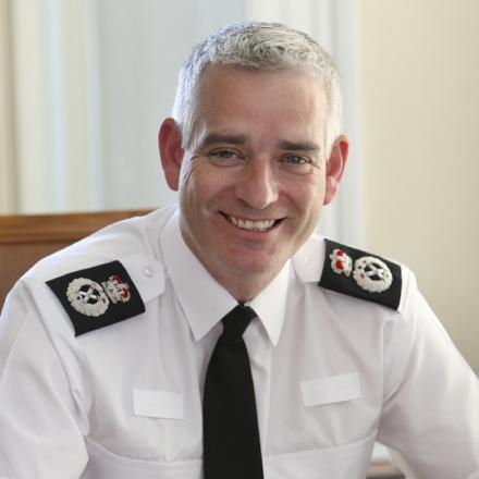 Chief Constable Dave Jones