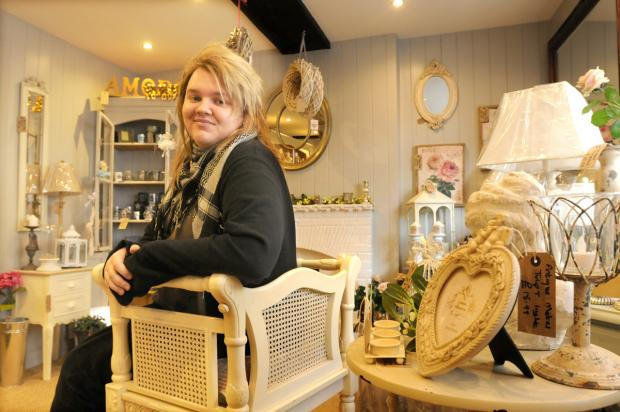 Oliver Arnold who has opened a new shop in Pickering