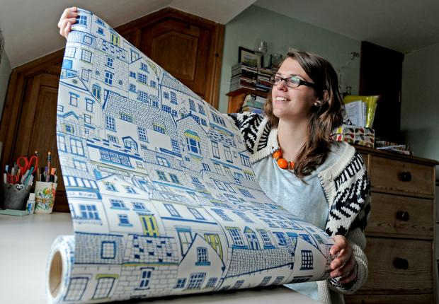 Jessica Hogarth, who is to show her designs at national trade show Top Drawer