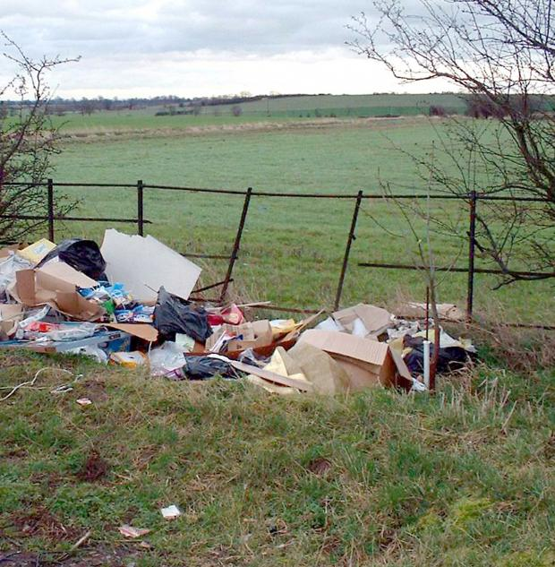 Gazette & Herald: Waste disposal charges may lead to more fly-tipping