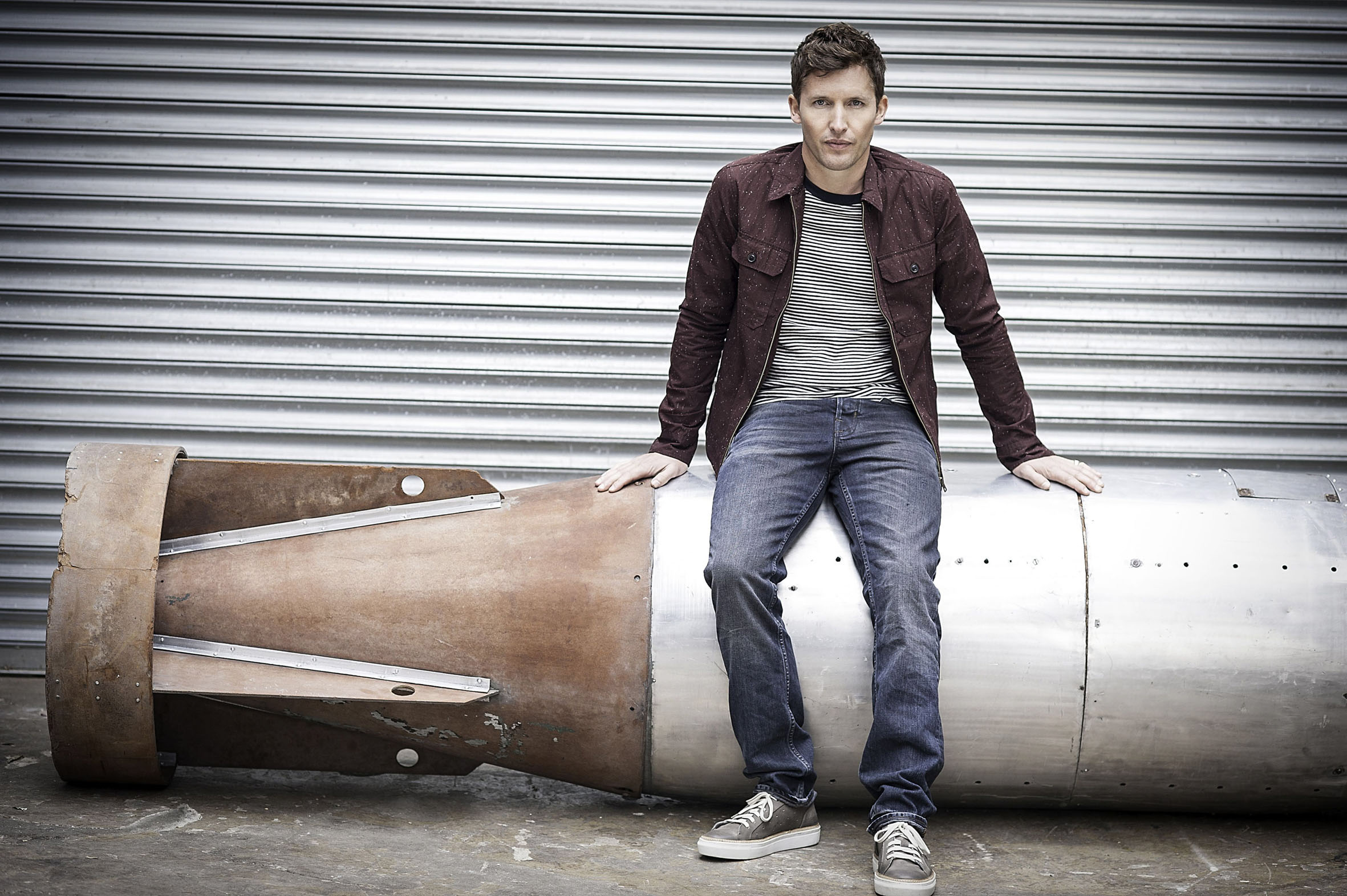 James Blunt, who will perform at Dalby Forest