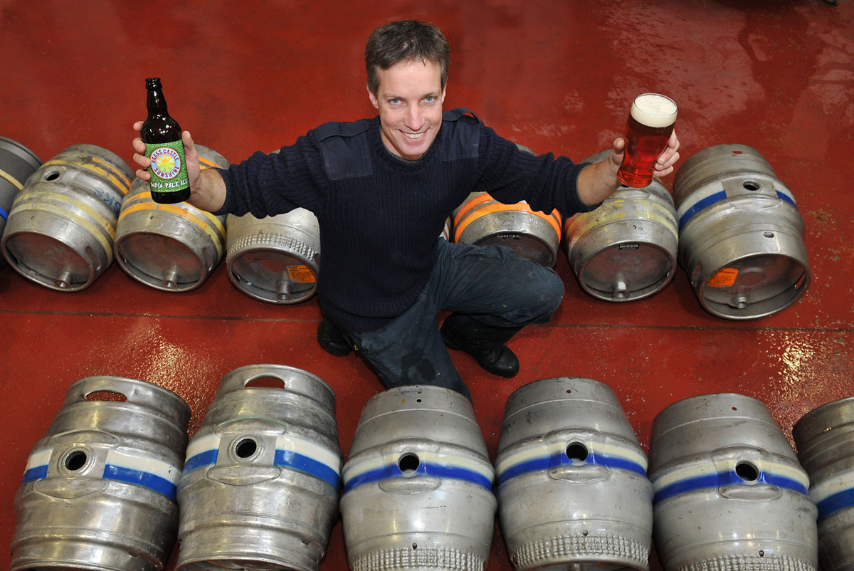 Phil Saltonstall head brewer at Brass Castle Brewery