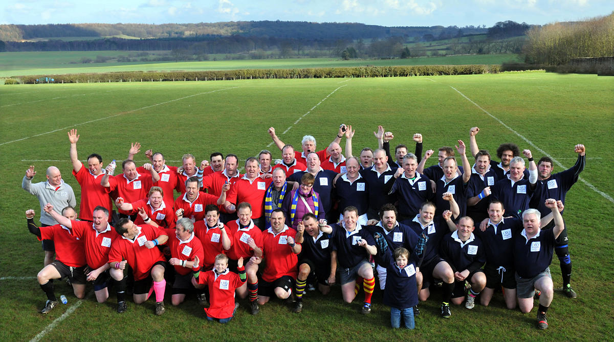 Codgers take on The Relics in charity rugby match