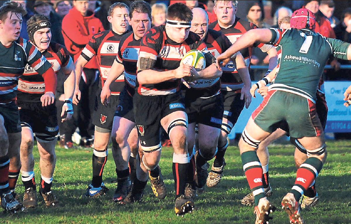 Malton & Norton forward Ali Coe touched down for the Ryedale side in their 28-13 North One East defeat at Morpeth
