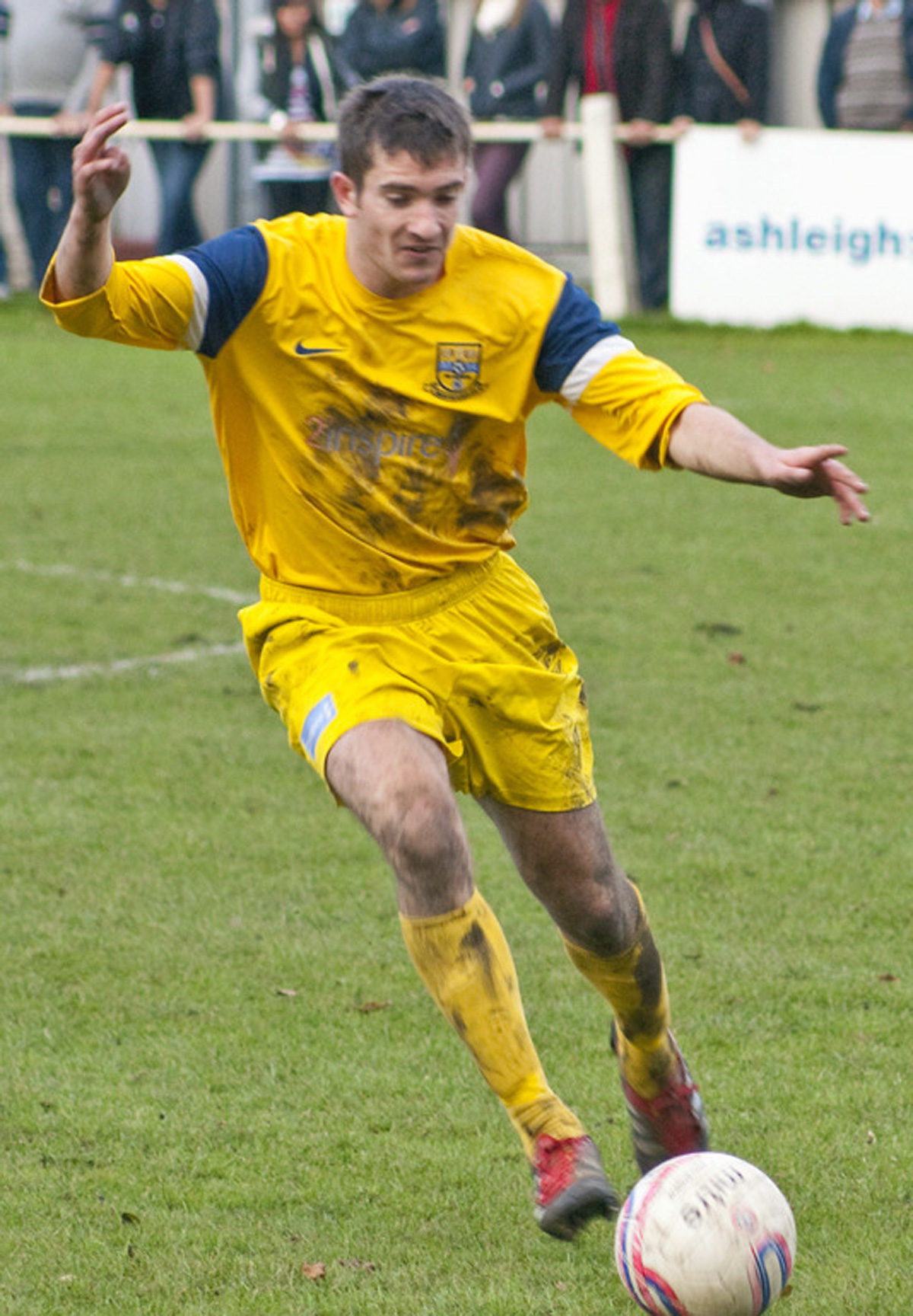 Tadcaster Albion's Nick Thompson