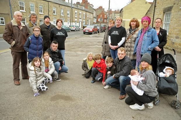 Residents of Potter Hill, Pickering, who are angry about the parking enforcement issues in the town and their streets