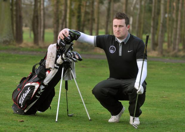 Gazette & Herald: Easingwold Golf Club's Nick Marchant is launching a determined bid to qualify for the EuroPro Tour