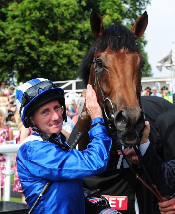 Jockey Paul Hanagan