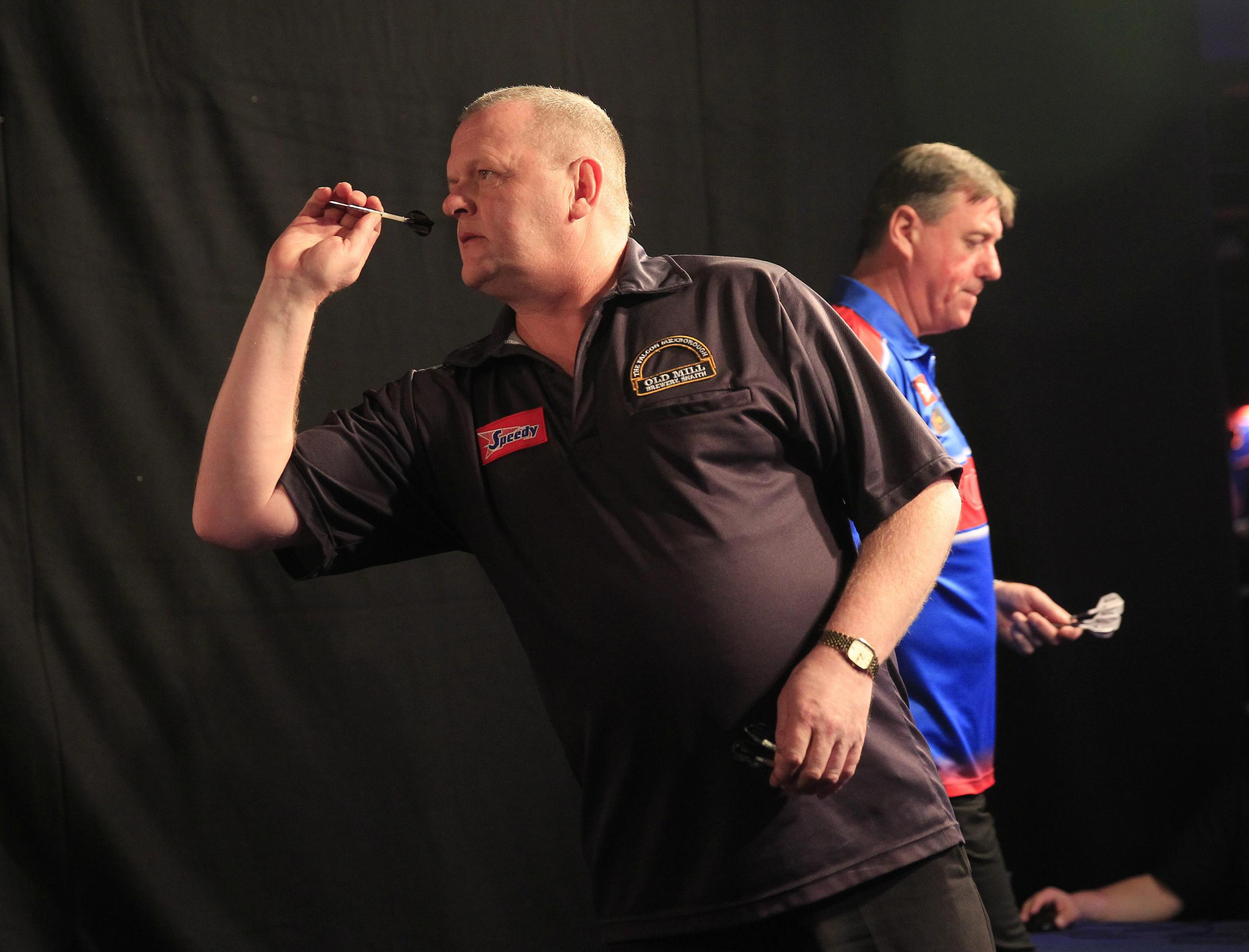 Terry Temple, who was beaten 6-4 by Ross Smith in the last qualifying round for the German Masters in Berlin