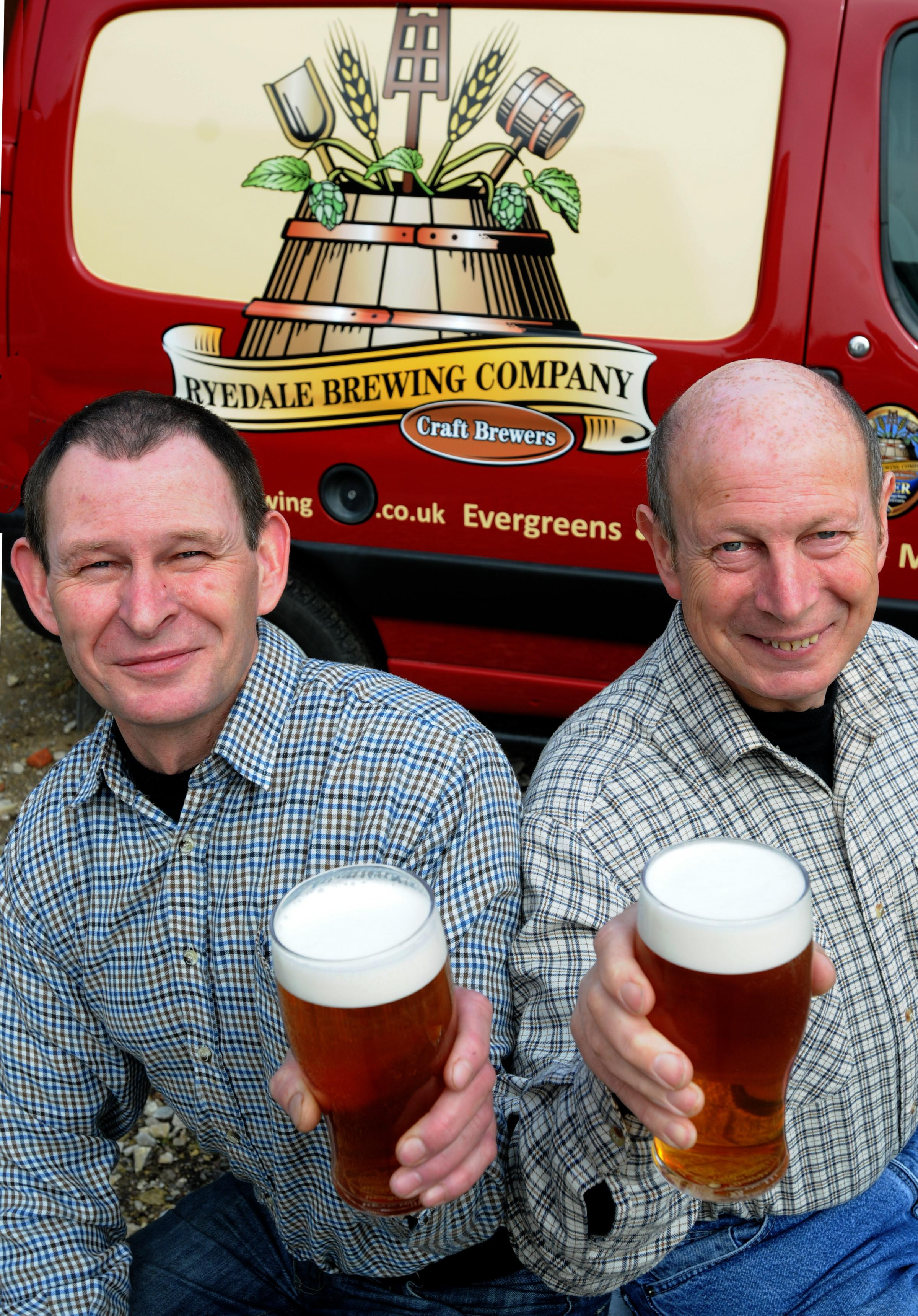 Brothers set up brewing business