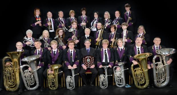 Members of the Swinton & District Excelsior Band  are celebrating their recent success in the North of England Brass Band Championships.