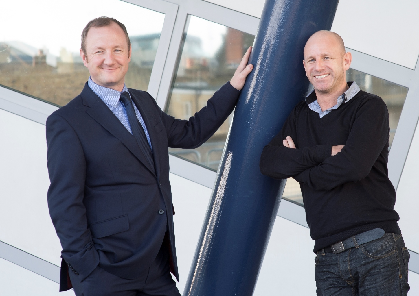 Duncan and Jamie Gledhill, founders of Emailmovers