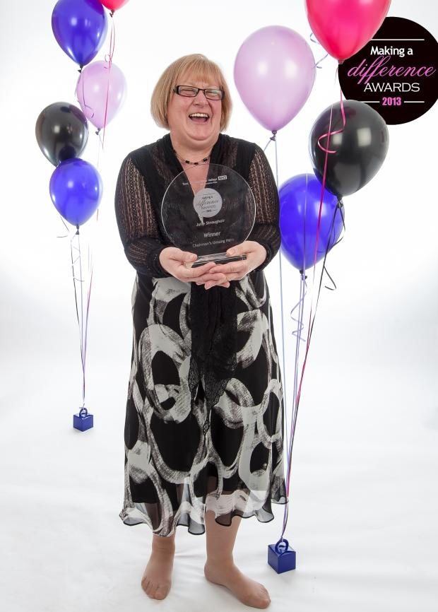 Gazette & Herald: Julie Stroughair, who works at Princess Road, Malton, who won the coveted chairman's unsung hero award at the Tees, Esk and Wear Valleys (TEWV) NHS Foundation Trust Making a Difference Awards 2013 ceremony.