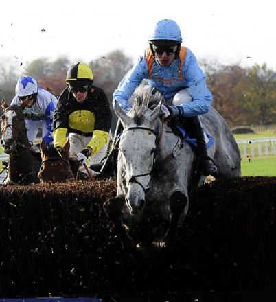 Jake Greenall rides Rose Of The Moon to victory at Wetherby in 2012,